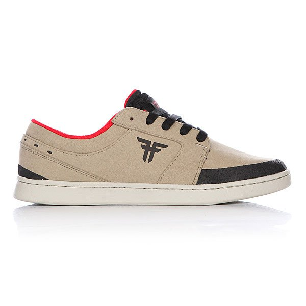 Кеды низкие Fallen Torch Khaki/Black Vegan