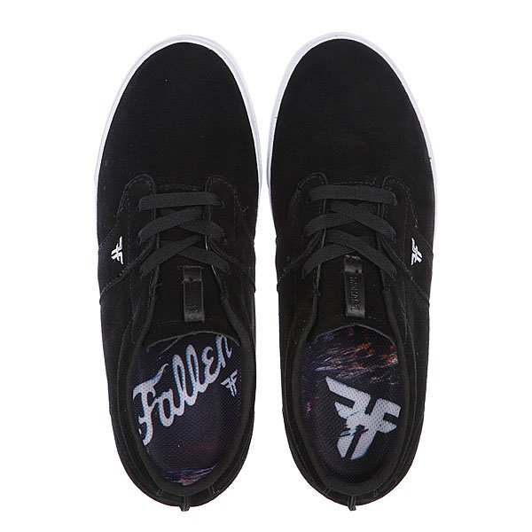 Кеды низкие Fallen Chief Xi Black/White