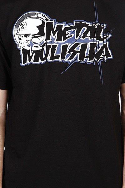 Футболка Metal Mulisha Colab-Mens Black