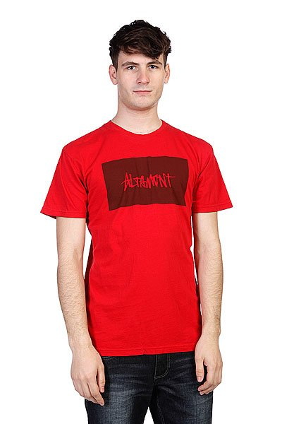 Футболка Altamont Blank Label Red