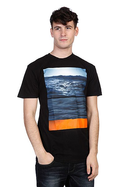 Футболка Altamont Flipped Seascape Black