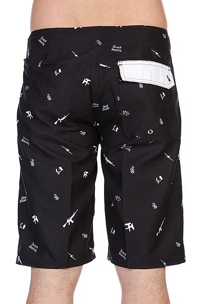Шорты Metal Mulisha Armed Boardshort Black