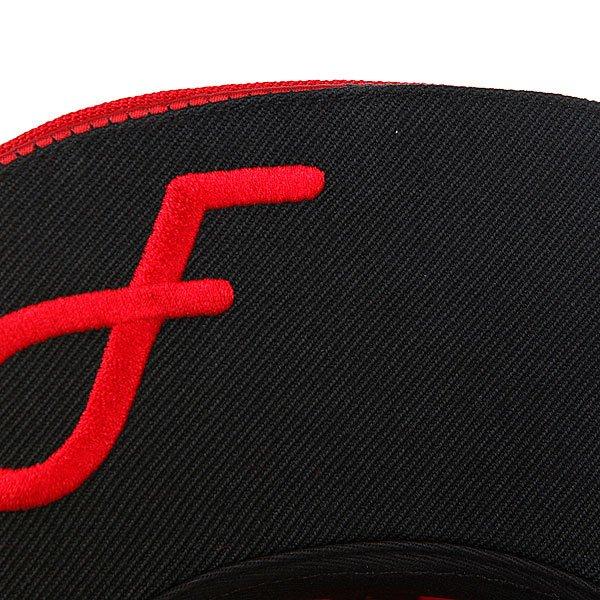 Бейсболка Flat Fitty Ff Wrap Red