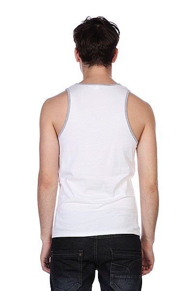 Майка Independent Fountain Tank White/Heather Grey