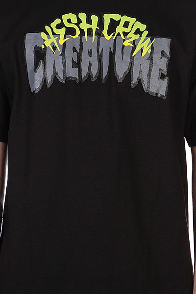 Майка Creature Hesh Crew Black