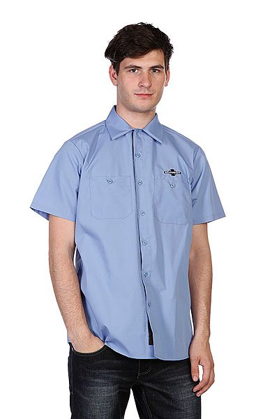 Рубашка Independent Daily Grind Light Blue