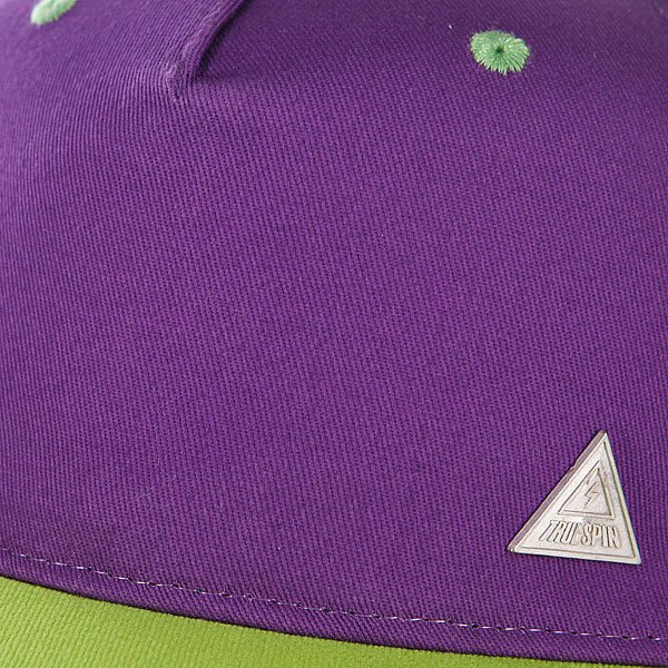 Бейсболка с сеткой True Spin 3 Tone Blank Trucker Cap Purple/Blue/Green