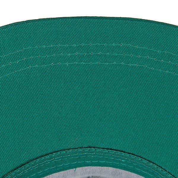 Бейсболка с сеткой True Spin 2 Tone Blank Trucker Cap Green/White