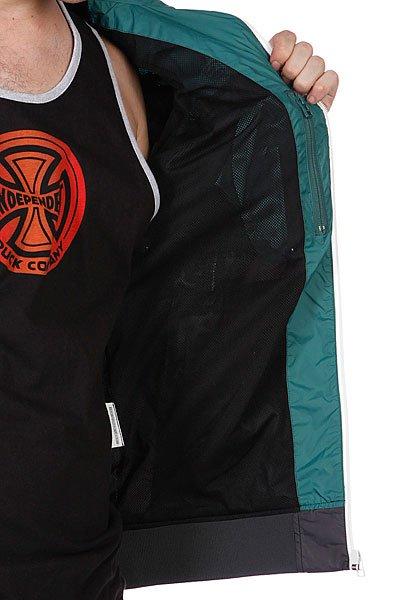 Ветровка с наушниками Globe Guildford Jacket Foli Green