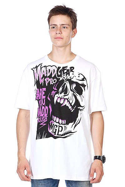 Футболка MGP T-shirt Madd Enough White