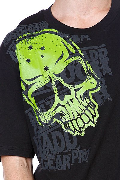 Футболка MGP T-shirt Corpo Skull Black/Green