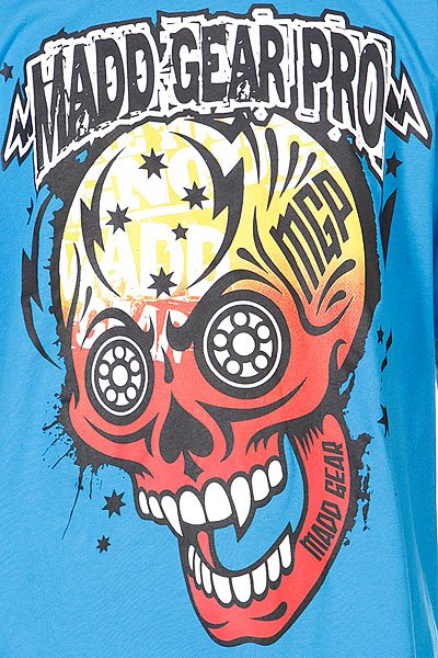 Футболка MGP T-shirt Muerte Skull Blue