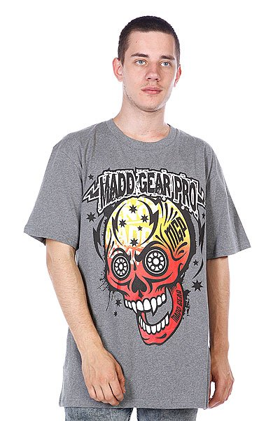 Футболка MGP T-shirt Muerte Skull Dark Heather