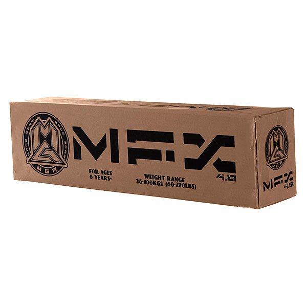 Дека для самоката MGP Mfx Deck (With Rear Axel And Composite Brake) Mx 4.8 Black