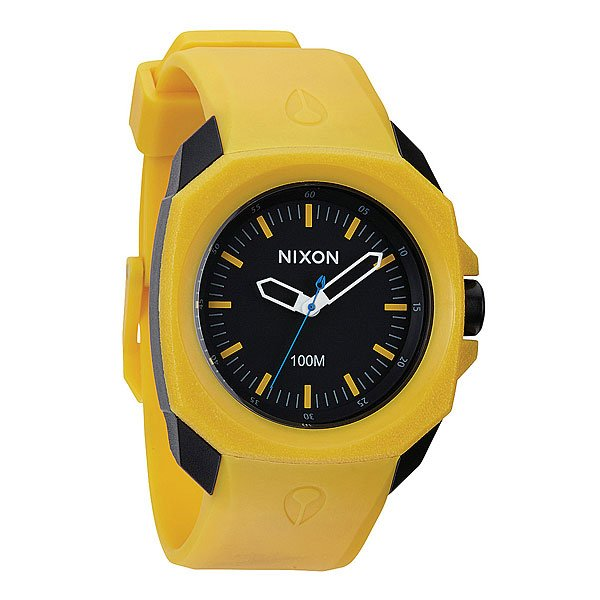 Часы Nixon Ruckus Yellow/Black
