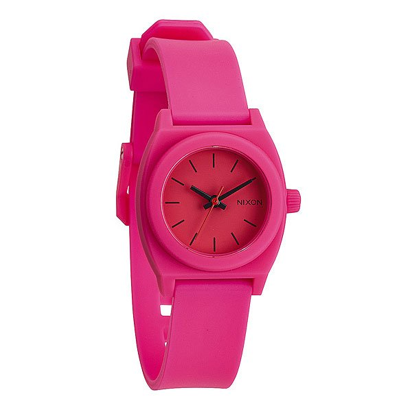 Часы женские Nixon Small Time Teller P Hot Pink