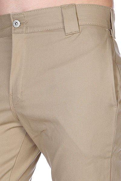 Штаны Dickies Slim Skinny Work Pant British Tan
