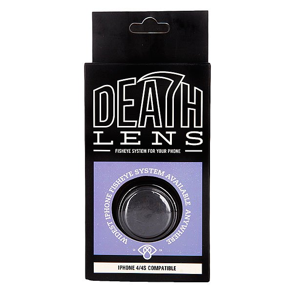 Чехол для Iphone Death Lens Fisheye Lens Dk. Blue Box 4/4s