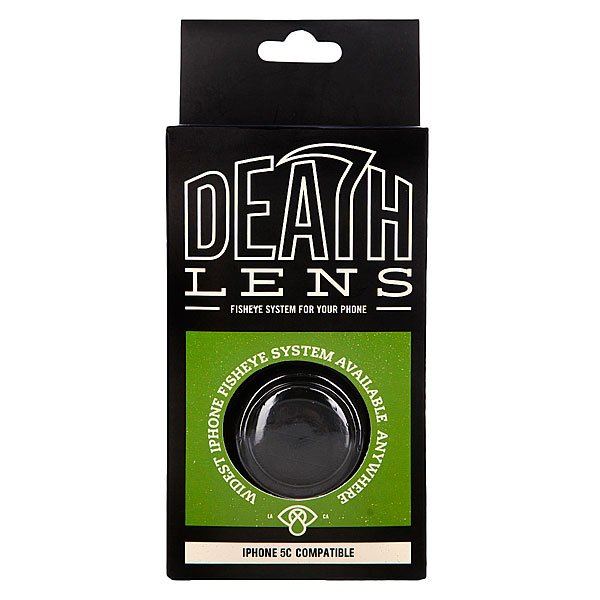 Чехол для Iphone Death Lens Fisheye Lens Bright Green Box 5c