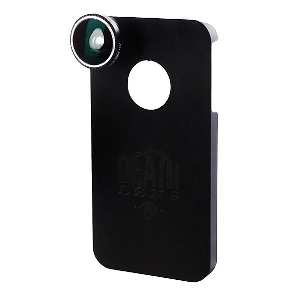 Чехол для Iphone Death Lens Wide Angle Lens Lt. Blue Box 4/4s