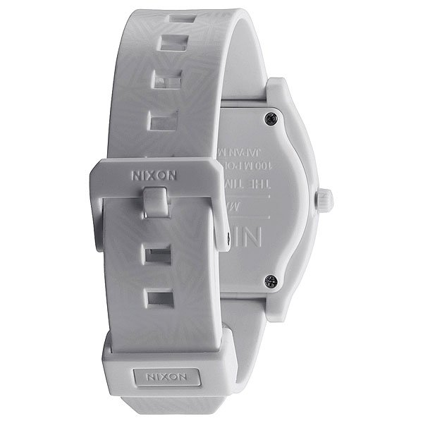 Часы Nixon Time Teller P All White Shadow
