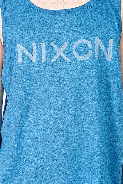 Майка Nixon League Mock Twist Tank Navy