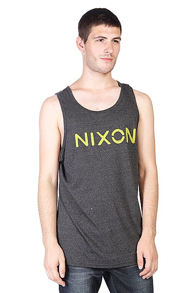 Майка Nixon League Mock Twist Tank Black