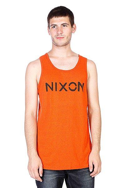 Майка Nixon League Mock Twist Tank Orange