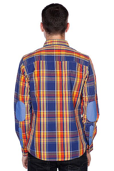 Рубашка в клетку Picture Organic Po Duck Orange
