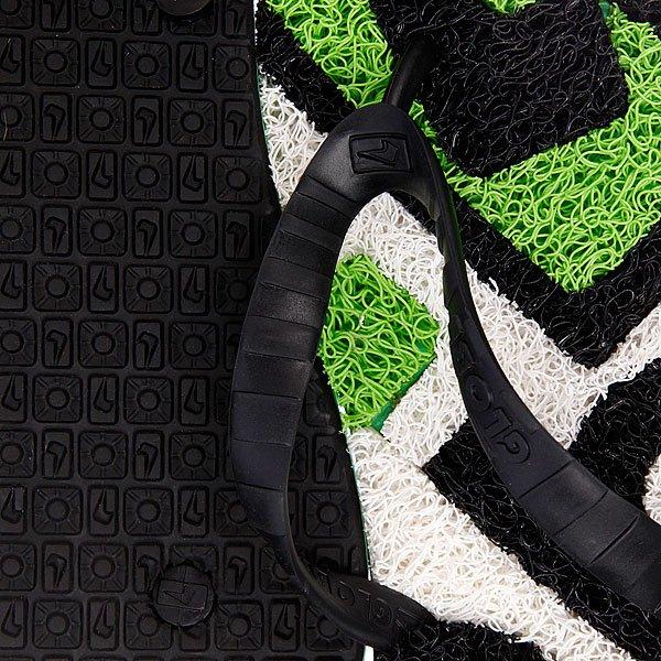 Шлепанцы Globe Merkin Matrix White/Lime/Black