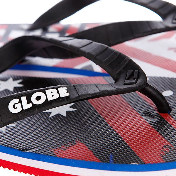 Шлепанцы Globe Oi Oi Oi Navy/Red