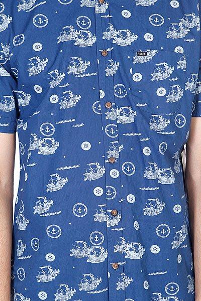 Рубашка Globe Mutany Shirt Indigo