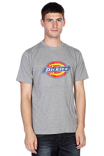 Футболка Dickies Horseshoe Tee Grey Melange
