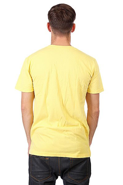 Футболка Altamont Stacked Logo Yellow