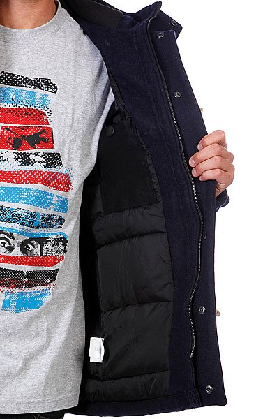 Пальто Etnies Kill Winter Jacket Old Harbor Blue