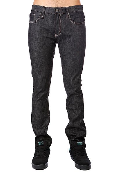 Джинсы узкие Altamont Alameda Slim Denim Black Raw
