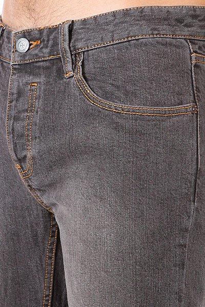 Шорты джинсовые Etnies Classic Slim 5 Short Black Dirty Wash