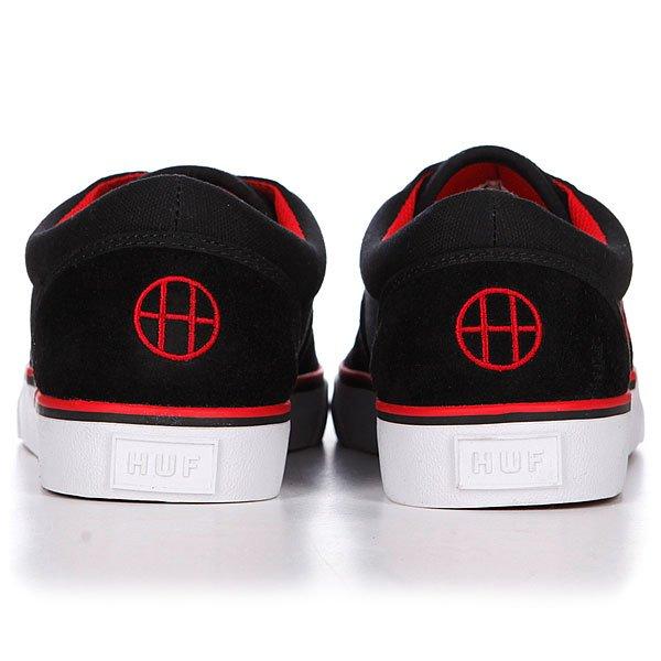 Кеды низкие Huf Genuine Black/Red