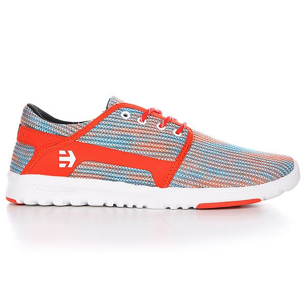 Кеды Etnies Scout Blue/Orange/White