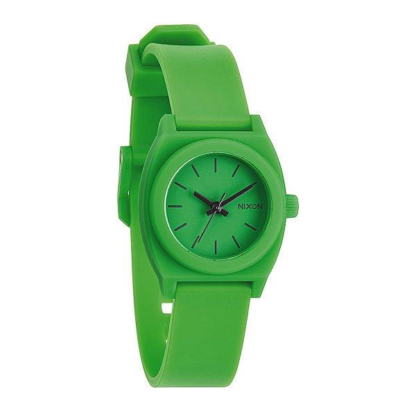 Часы женские Nixon Small Time Teller P Green