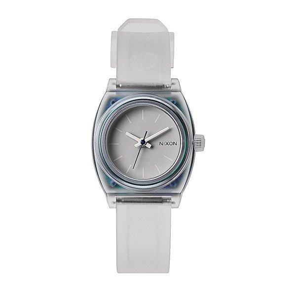 Часы женские Nixon Small Time Teller P Translucent