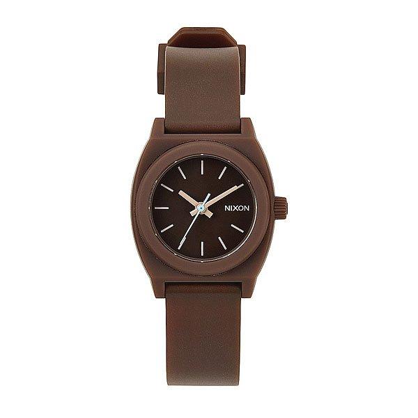 Часы женские Nixon Small Time Teller P Brown