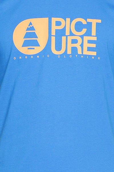 Футболка Picture Organic Basement T Blue