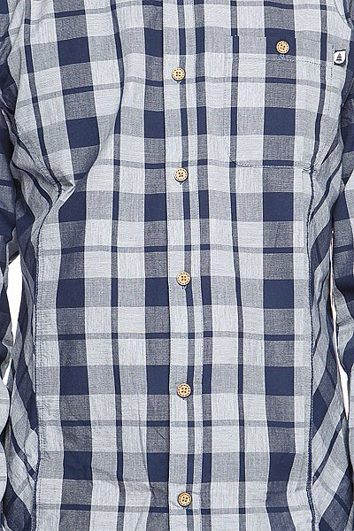 Рубашка в клетку Picture Organic Seagull Blue