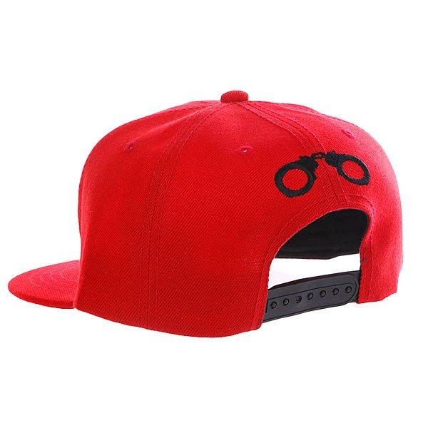 Бейсболка TrueSpin Acab Red