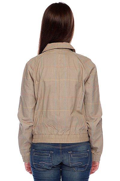Куртка женская Santa Cruz Stray Steel Grey Plaid