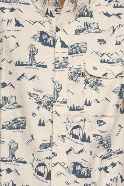 Рубашка Element Foot Path Shirt Vanilla