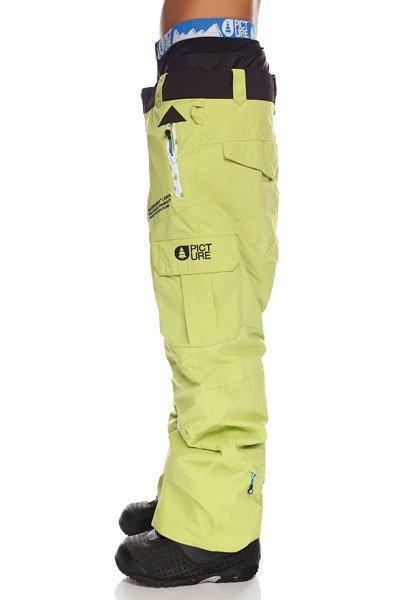 Штаны сноубордические Picture Organic Men Black/Blue