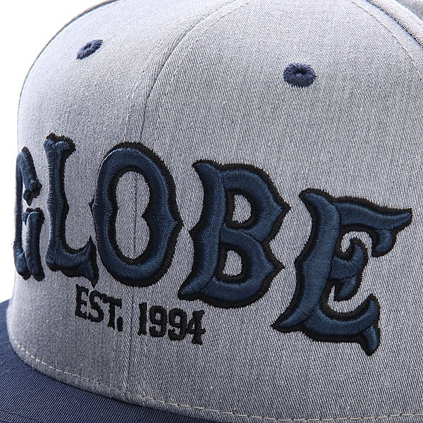 Бейсболка Globe Globe Hitters Cap Char