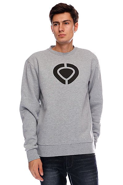Толстовка Circa Icon Crew Fleece Athletic Heather